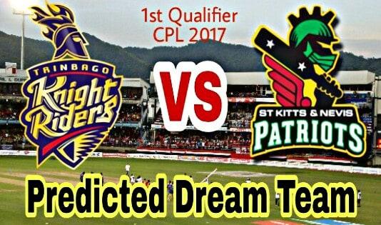 TKR vs SKN Dream Team