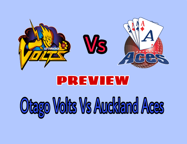 Image result for Auckland Aces vs Otago Volts