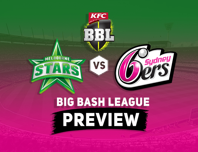 MLS vs SDS Dream11 Team Prediction, Preview: BBL| Stars take on Sixers at the MCG