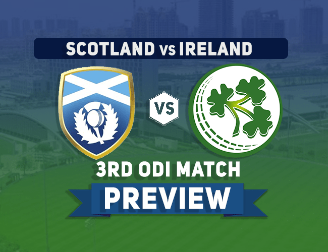 SCO vs IRE Dream11 Team Prediction, Preview: UAE TRI-SERIES| First look at the Scottish team
