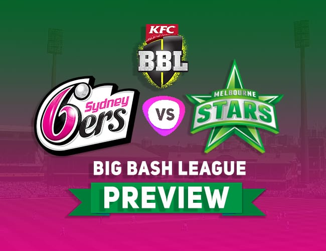 SDS vs MLS Dream11 Team Prediction, Preview: BBL  Sixers on the run