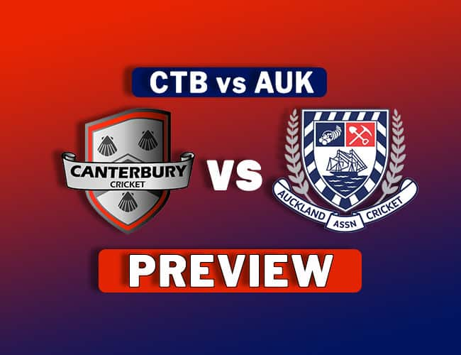 CTB vs AUK Dream11 Team Prediction, Preview: Ford Trophy| Race for the final