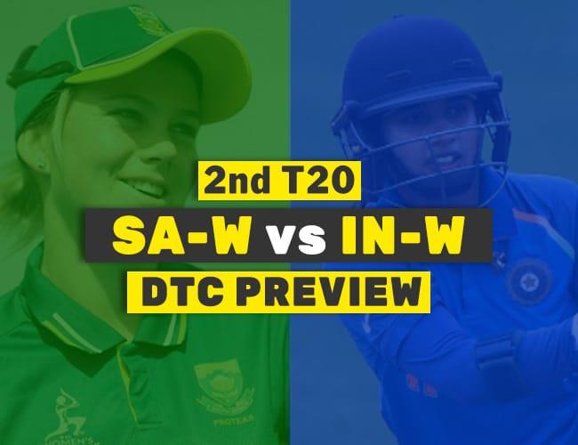 IN-W vs SA-W 2nd T20 Dream11 Team Prediction : PREVIEW