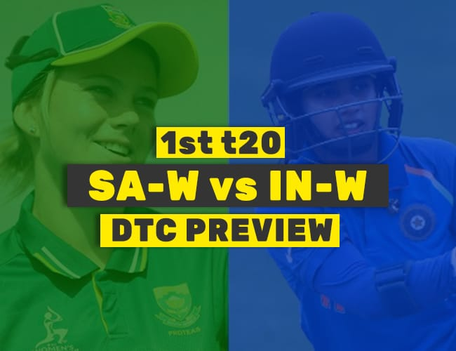 IN-W vs SA-W 1st T20 Dream11 Team Prediction : PREVIEW