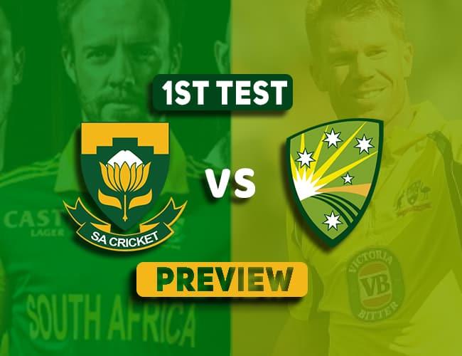 SA vs AUS 1st Test Preview | Dream11 Team Prediction