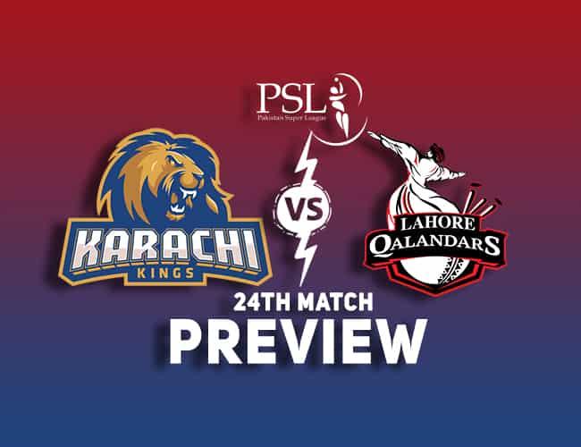 KAR vs LAH Dream11 Team Prediction, Preview   Can Lahore spring a surprise?