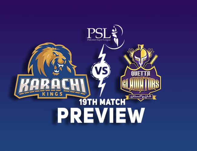 KAR vs QUE PSL T20 Dream11 Team Prediction: Preview  Shahid Afridi out due to injury