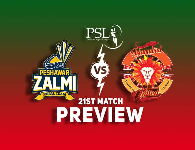 PES vs ISL PSL T20 Dream11 Team Prediction: Preview  Will Ronchi power work today?