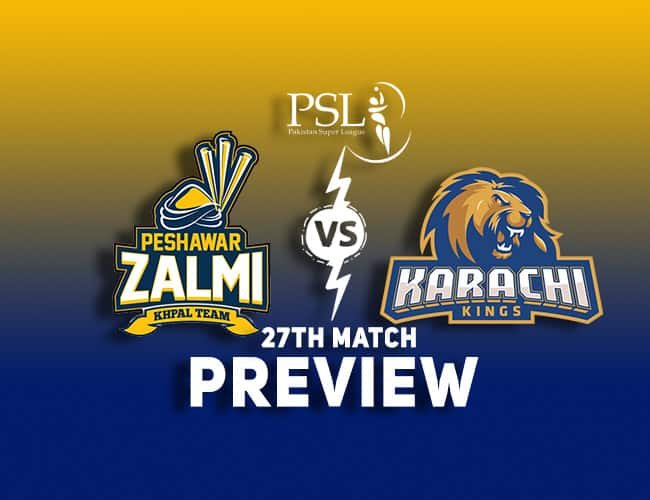 PES vs KAR Dream11 Team Prediction and Preview: PSL 2018  Eoin Morgan in place of Wasim