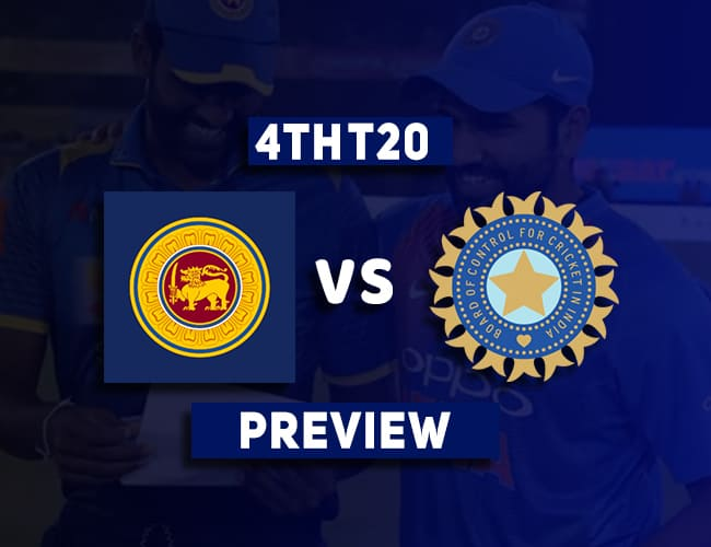SL vs IND 4th T20I Dream11 Team Prediction and Preview| Chandimal out of the next two matches