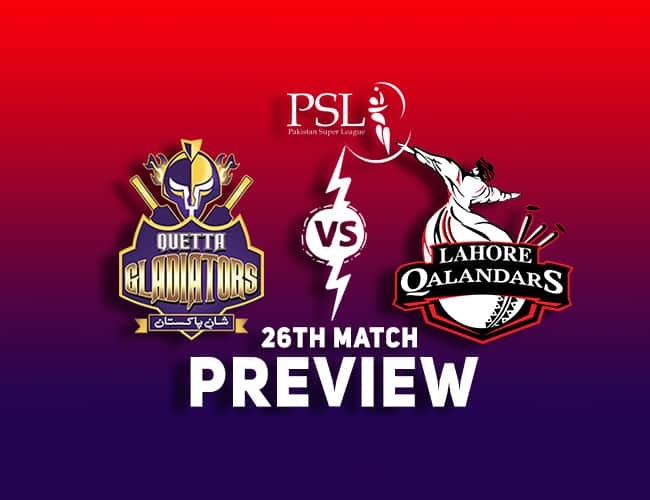 QUE vs LAH Dream11 Team Prediction and Preview: PSL