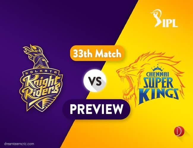 KKR vs CSK Dream11 Team | Kolkata vs Chennai