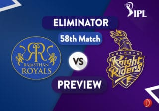 RAJ vs KOL Dream11 Teaam   Rajasthan vs Kolkata Preview - The Eliminator