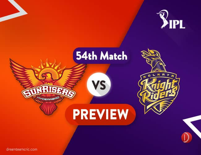 SRH vs KKR Dream11 Team Prediction IPL Match 54: Preview   Hyderabad Qualified, but Not Favourite