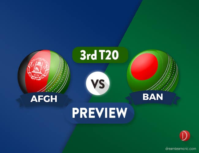 AFGH vs BAN Dream11 Team Prediction and Probable XI: Preview| Battle of Pride
