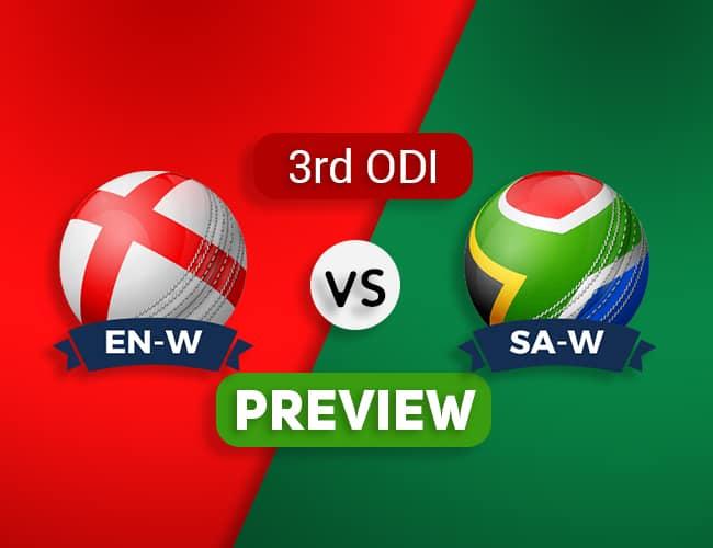 EN-W vs SA-W Third ODI Dream11 Team Prediction and Probable XI: Preview| The Final