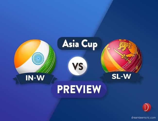 IN-W vs SL-W Dream11 Team Prediction and Probable XI: Preview| Can India make a comeback?