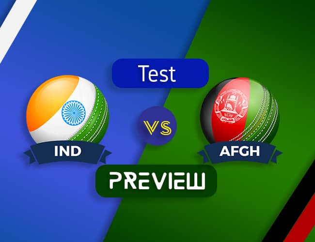 IND vs AFGH Only Test Dream11 Team Prediction and Preview| The Historic Test