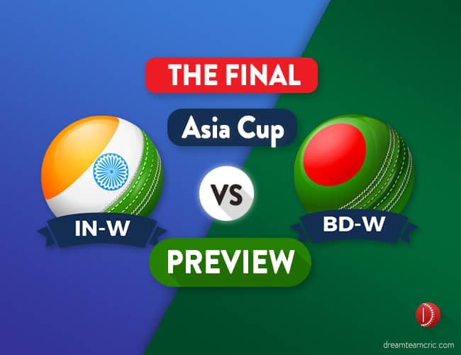 IN-W vs BD-W Dream11 Team Prediction and Probable XI: Preview | The Final