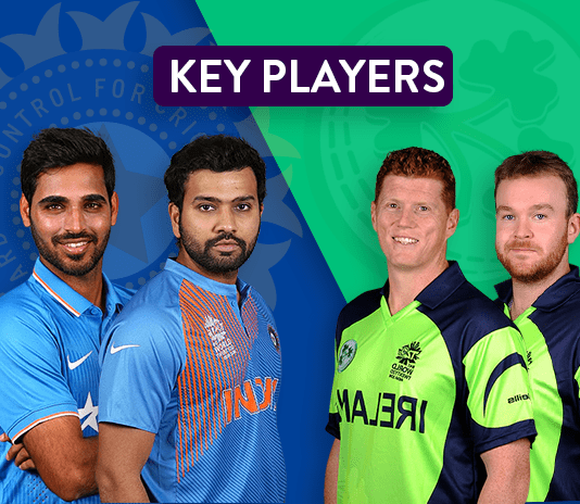 IRE vs IND 2nd T20 Key Players