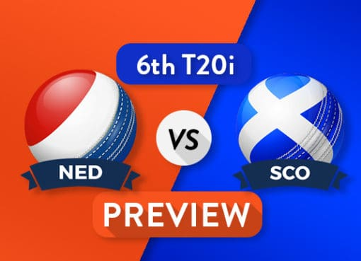 NEDvs SCO SixthT20I Dream11 Team Prediction and Probable XI: Preview| All to play for