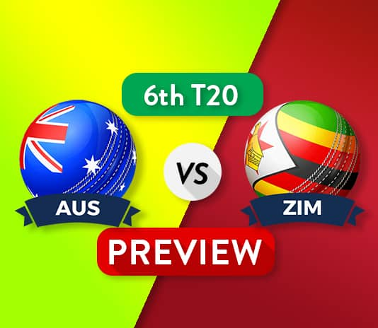 AUS vs ZIM Dream11 Team Prediction, Probable XI: 6th T20I Preview| The Last group match
