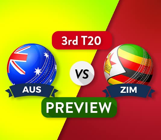 AUS vs ZIM Dream11 Team Prediction, Probable XI: 3rd T20I Preview