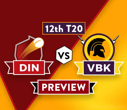 DIN vs VBK Dream11