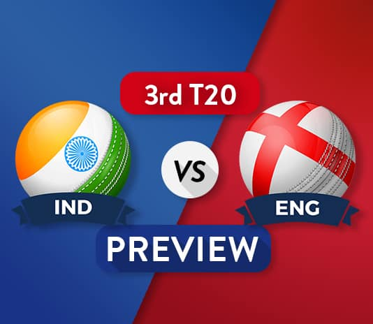 ENG vs IND Dream 11 Team Prediction and Probable XI: 3rd T20 Preview