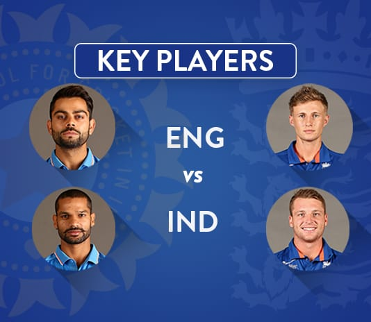 England vs India 1st T20IKey Players