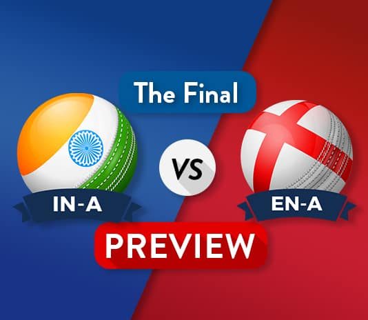 IN-A vs EN-A Dream11 Team Prediction : Preview   The Final Battle