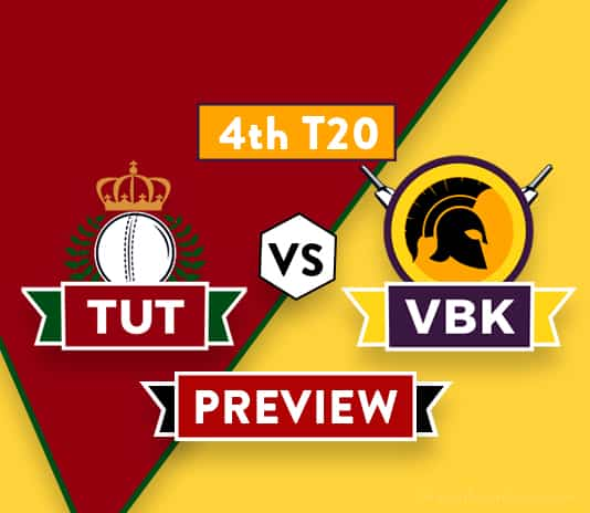 TUT vs VBK Dream11 Team Prediction and Probable XI: Preview