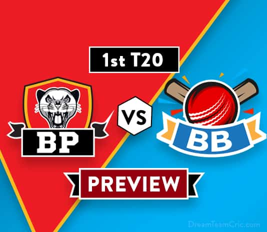 BP vs BB T20 Dream11 Team Prediction and Probable XI: Preview