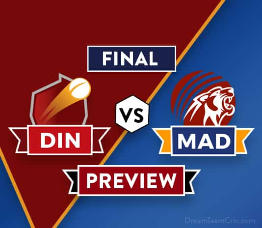 DIN vs MAD Dream11 Team Prediction and Probable XI: Preview | The Final