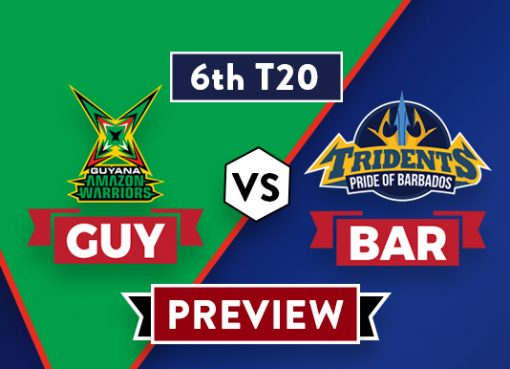 GUY vs BAR T20 Dream11 Team Prediction and Probable XI: Preview