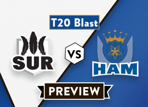 SUR vs HAM T20 Dream11 Team Prediction and Probable XI: Preview | Finch is Back
