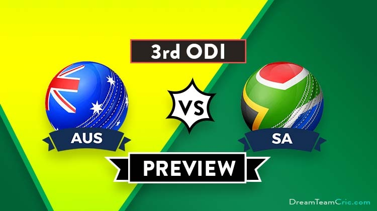 Aus Vs Sa Rd Odi Dream Team Prediction Preview Can Aus Clinch The Advantage