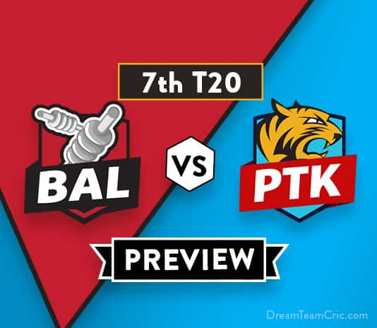 BAL vs PTK Dream11 Team Prediction of Afghanistan Premier League: Preview |Gayle will play