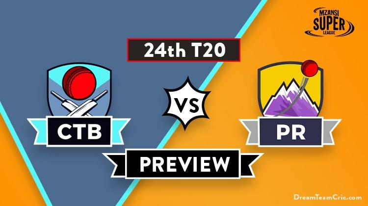 CTB vs PR Dream11 Team