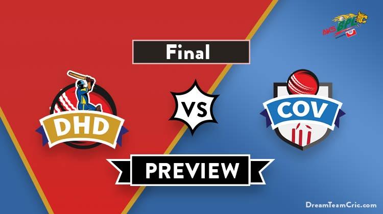 DHD vs COV Dream 11