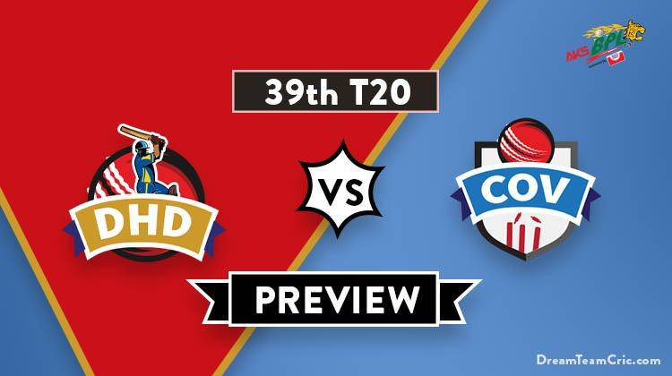 DHD vs COV Dream11