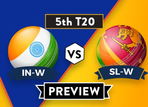 SL-W VS IN-W 5th T20I Dream11 Team Prediction and probable XI: Preview| The Last chance