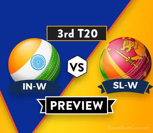 SL-W VS IN-W 2nd T20I Dream11 : Preview | India Going Strong