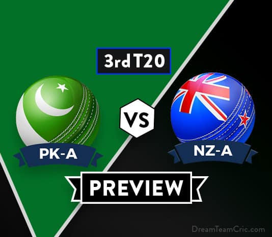 PK-A vs NZ-A Dream 11 Team Prediction and Probable XI: Preview