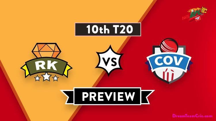 RK vs COV Dream11