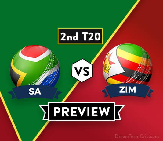 SA vs ZIM 2nd T20 Dream11 Team Prediction: Preview| Imran Tahir Rested