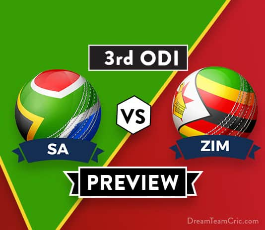 SA vs ZIM 3rd ODI Dream11 Team Prediction: Preview | Can ZIM pull off an upset?