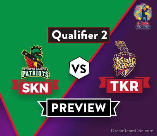 SKN vs TKRDream 11 Team Prediction and Probable XI: Preview| One step away from Final