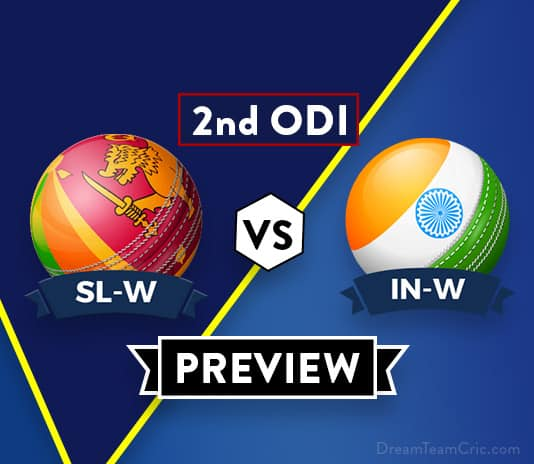 SL-W vs IN-W 2nd ODI Dream11 Team Prediction and probable XI: Preview