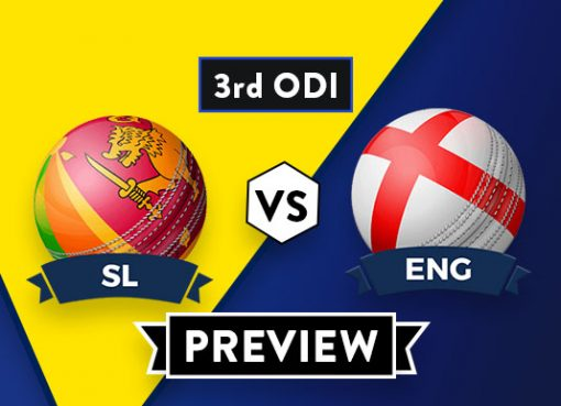 SL vs ENG3rd ODIDream11 Team Prediction : Preview| Kusal Perera and L Dawson out